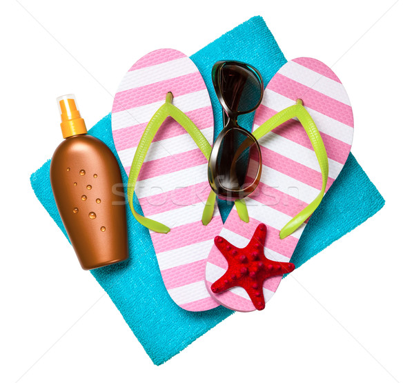 Beach Accessories Stock photo © Bozena_Fulawka