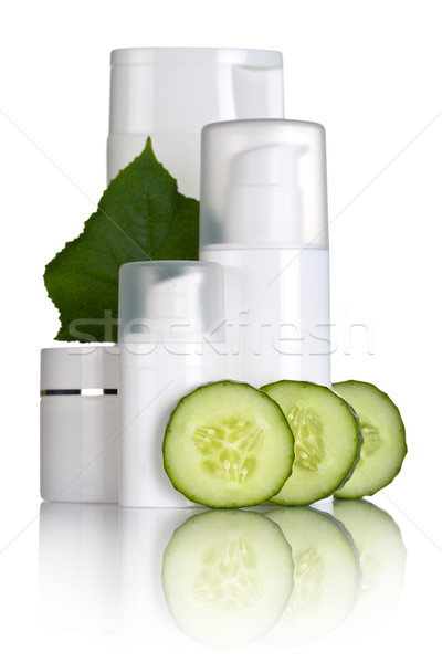 Cucumber Cosmetics Stock photo © Bozena_Fulawka