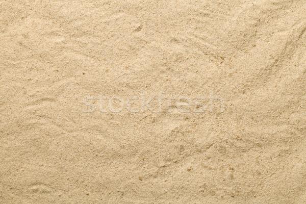 Homok textúra nyár copy space felső kilátás Stock fotó © Bozena_Fulawka