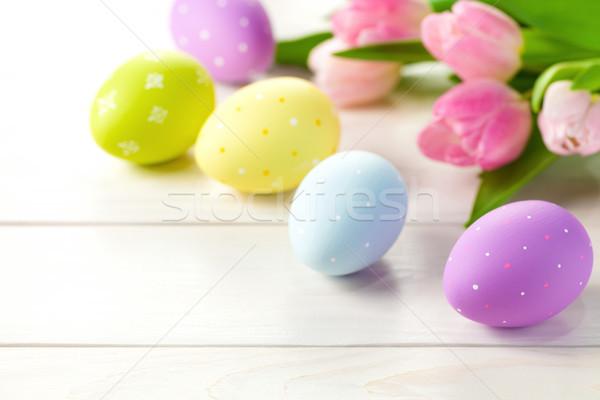 Easter Background Stock photo © Bozena_Fulawka