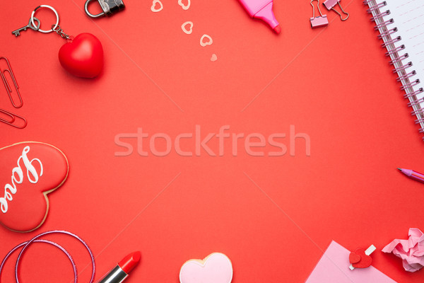 Valentines Day Background Stock photo © Bozena_Fulawka
