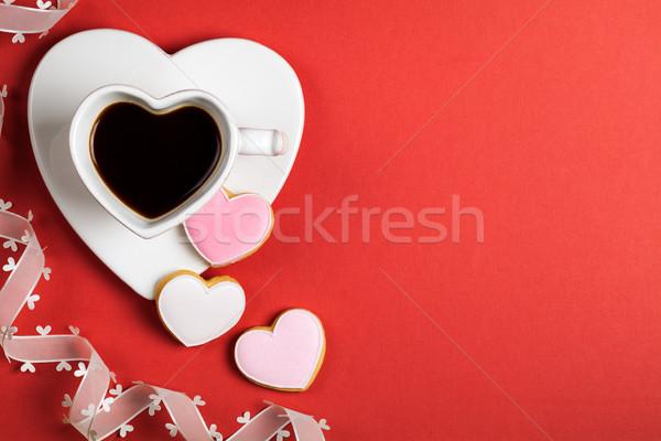 Valentines Day Composition Stock photo © Bozena_Fulawka