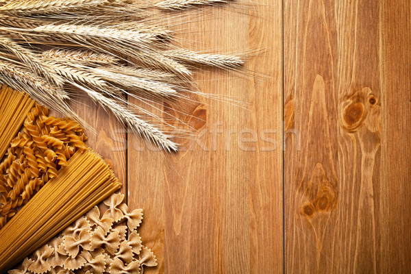 Pasta With Wheat Stock photo © Bozena_Fulawka