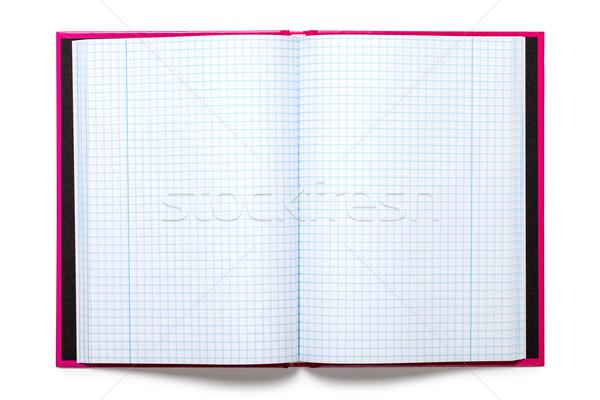 Schrift witte top papier boek Stockfoto © Bozena_Fulawka