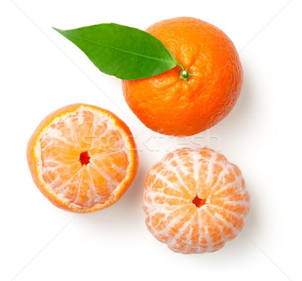 Mandarines Isolated on White Background Stock photo © Bozena_Fulawka