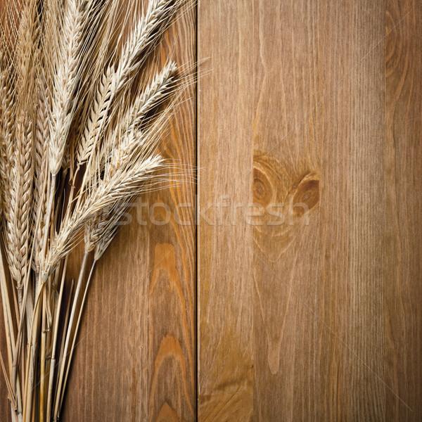 Wheat Ears Stock photo © Bozena_Fulawka