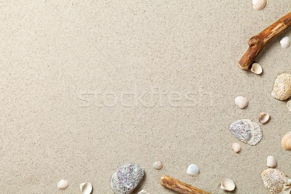 Sand Background Stock photo © Bozena_Fulawka