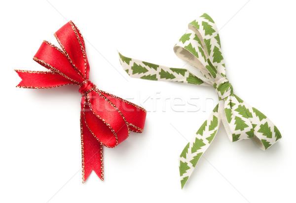 Christmas Bows Isolated on White Background Stock photo © Bozena_Fulawka