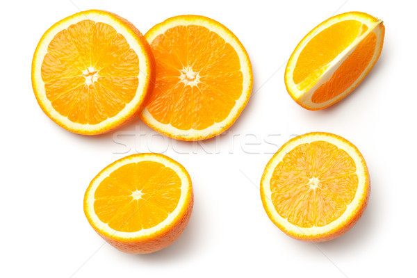 Oranje geïsoleerd witte top kleur Stockfoto © Bozena_Fulawka