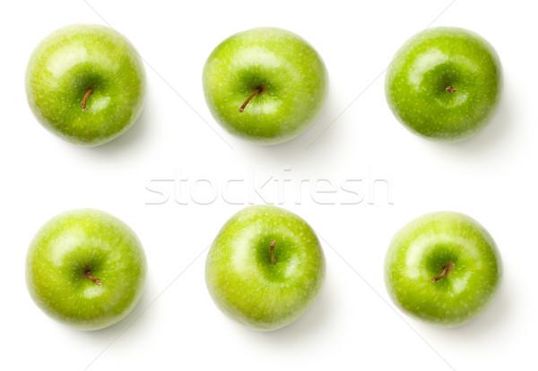 Green Apples Isolated on White Background Stock photo © Bozena_Fulawka