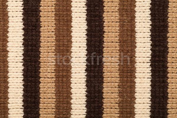 Foto stock: Tejido · textura · de · punto · marrón · primer · plano