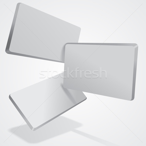 Abstract 3D eps8 tegels business bouw Stockfoto © brahmapootra