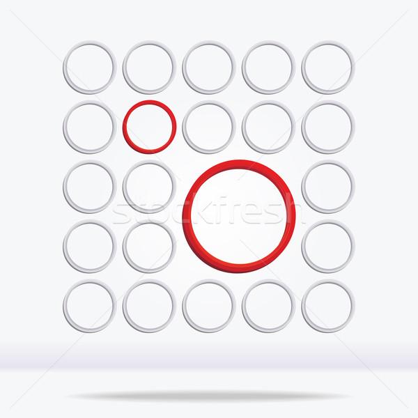 Absztrakt mértani kör eps8 építkezés űr Stock fotó © brahmapootra