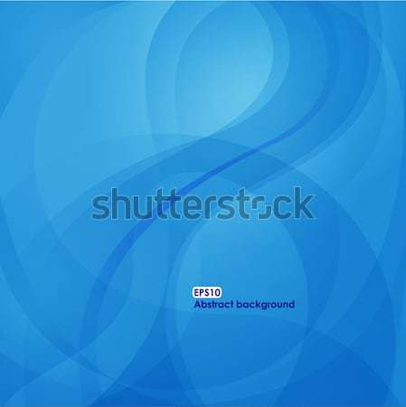 EPS10 wave background in blue tones Stock photo © brahmapootra
