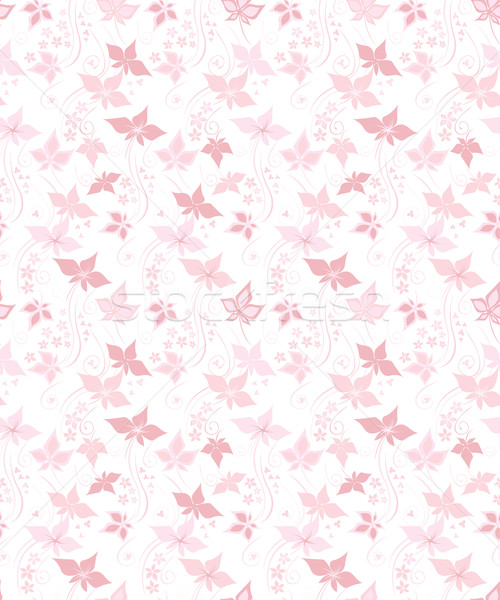 かなり フローラル ピンク 葉 花 ストックフォト © brahmapootra
