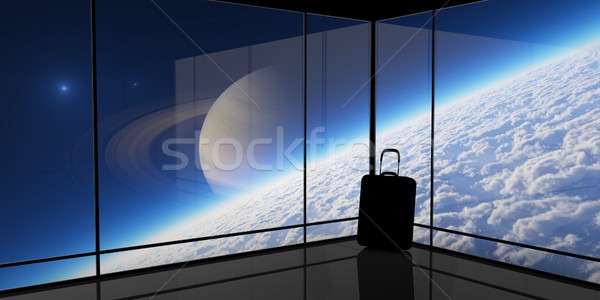 Abstrato visão espaço viajar elementos imagem Foto stock © Bratovanov