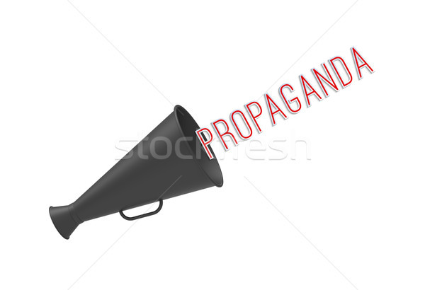 Propaganda Stock photo © Bratovanov