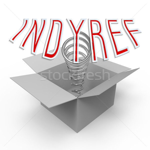 Indyref Stock photo © Bratovanov