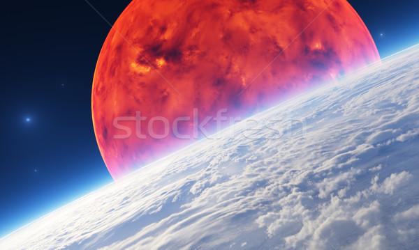 солнце графических не особенность Элементы другой Сток-фото © Bratovanov