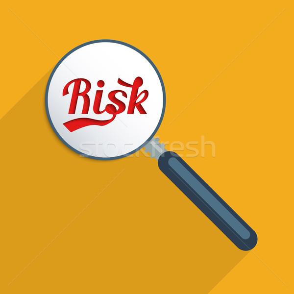 Gestão de risco risco análise projeto ilustração sombra Foto stock © Bratovanov