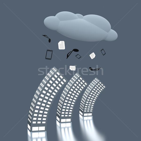 Inovação digital negócio música tecnologia Foto stock © Bratovanov