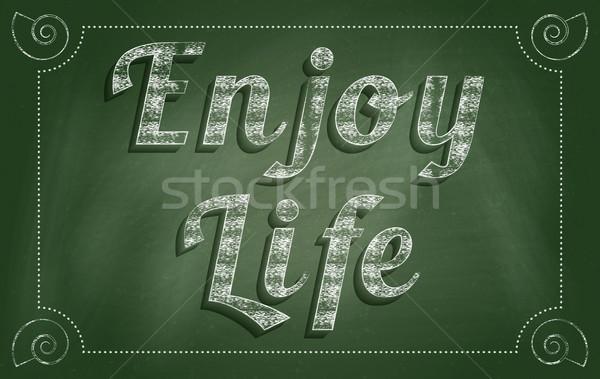 Enjoy Life Stock photo © Bratovanov