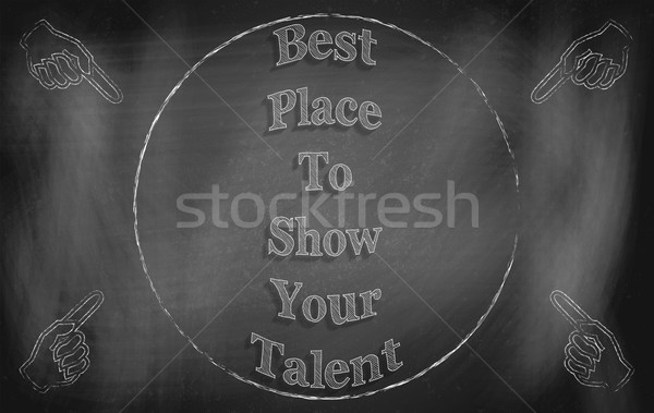 Best Place to Show Your Talent Stock photo © Bratovanov