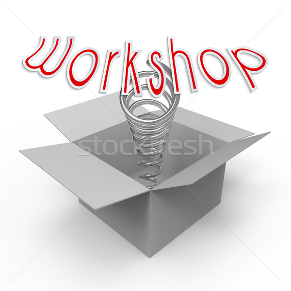 Workshop opzionale formazione abilità Foto d'archivio © Bratovanov