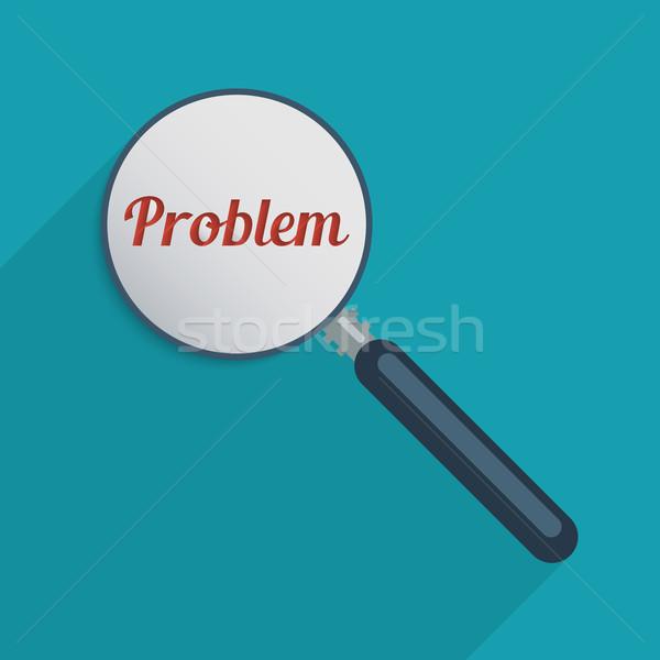 Problémamegoldás megállapítás megoldások kreativitás terv illusztráció Stock fotó © Bratovanov