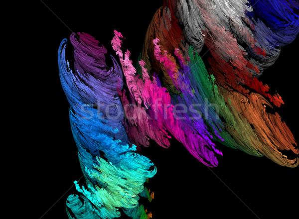 Color tornado Stock photo © Bratovanov