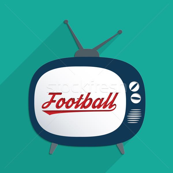 Futball idő bajnokság információ társadalom terv Stock fotó © Bratovanov