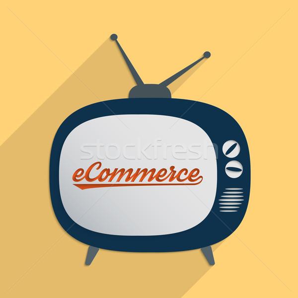 Novo oportunidades ecommerce virtual economia projeto Foto stock © Bratovanov