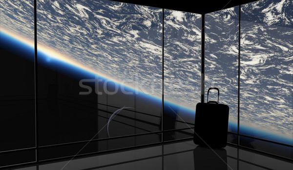 űr utazás absztrakt előrelátás grafikus nem Stock fotó © Bratovanov