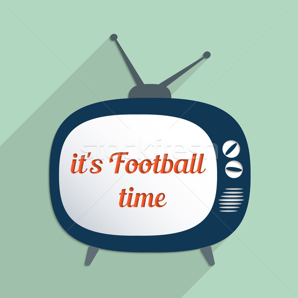 It's football time Stock photo © Bratovanov