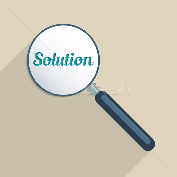 Finding solutions Stock photo © Bratovanov
