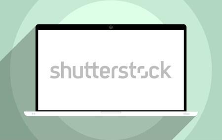 ноутбука экране дизайна иллюстрация интернет контроля Сток-фото © Bratovanov