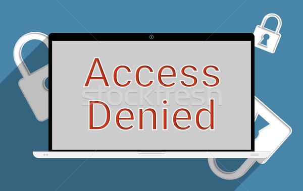 Access denied Stock photo © Bratovanov