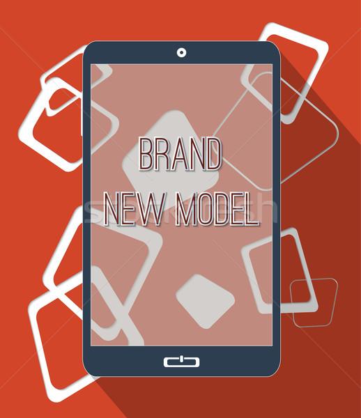 марка новых модель высокий Tech зависимость Сток-фото © Bratovanov