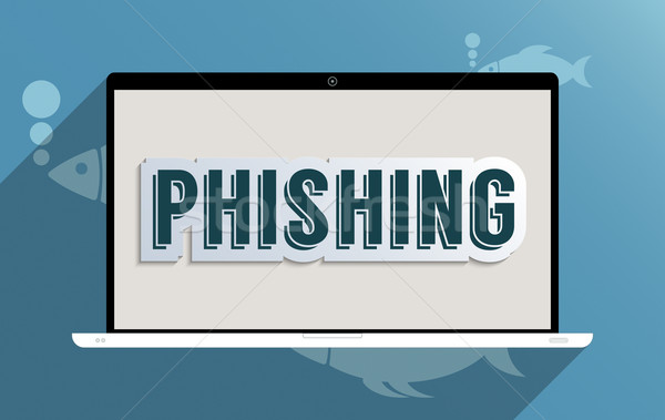 Phishing informations sécurité design illustration internet Photo stock © Bratovanov