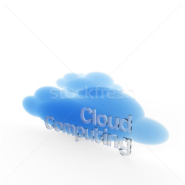 инновация цифровой интернет технологий облаке Сток-фото © Bratovanov