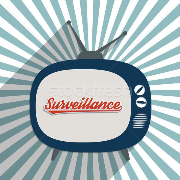 Observação cctv informação segurança projeto ilustração Foto stock © Bratovanov