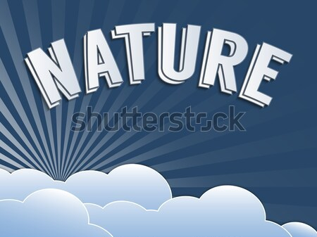 Stock fotó: Környezet · kreatív · téma · környezeti · klímaváltozás · klasszikus