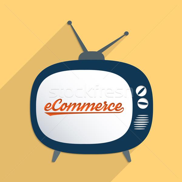 новых электронной коммерции виртуальный экономики дизайна Сток-фото © Bratovanov