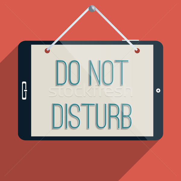 Do not disturb Stock photo © Bratovanov