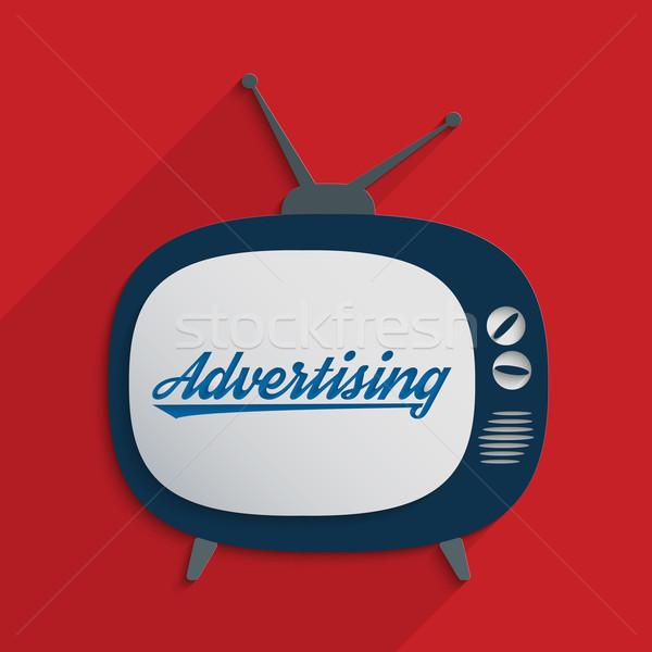 Publicidade indústria marketing massa mídia projeto Foto stock © Bratovanov