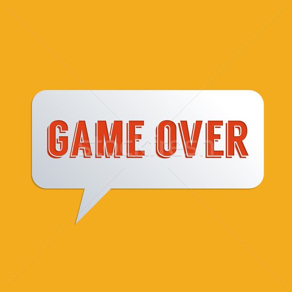 Game over Stock photo © Bratovanov