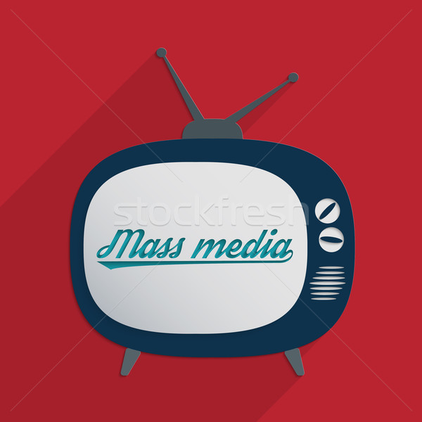 Mass media Stock photo © Bratovanov