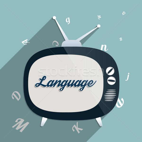 язык власти знания образование Сток-фото © Bratovanov