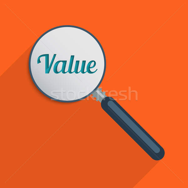 Find your values Stock photo © Bratovanov