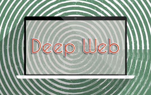 глубокий веб информации безопасности невидимый интернет Сток-фото © Bratovanov